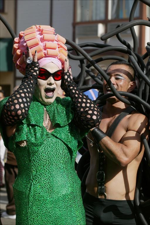 Folsom Street Fair Dragqueen